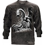 Футболка The Mountain Black Dragon LS